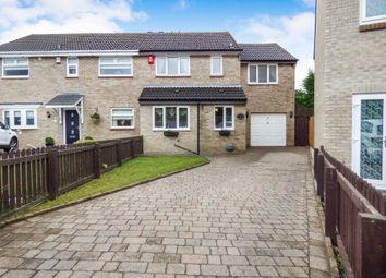 Thumbnail 4 bed semi-detached house for sale in Redford Place, Burradon, Cramlington