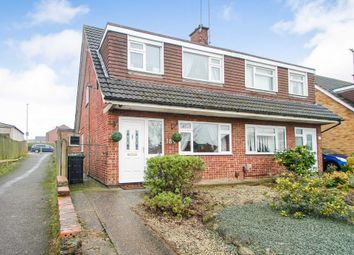 Thumbnail 3 bed semi-detached house for sale in Grangeway, Rushden