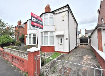 Thumbnail 2 bed semi-detached house for sale in Dunelt Road, Blackpool, Lancashire