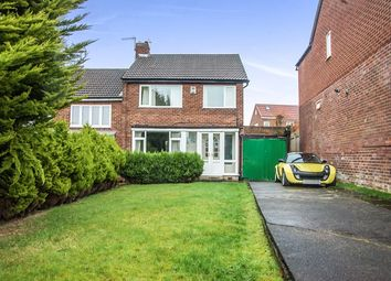 Thumbnail 3 bed semi-detached house for sale in Horncliffe Gardens, Swalwell, Newcastle Upon Tyne