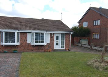 Thumbnail 2 bed semi-detached bungalow to rent in Cormorant Close, Washington