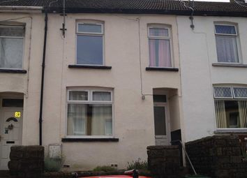 Thumbnail 4 bed terraced house for sale in Woodfield Terrace, Penrhiwceiber, Mountain Ash