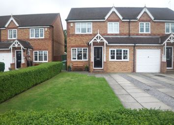 Thumbnail 3 bed semi-detached house for sale in Medway Place, Cramlington