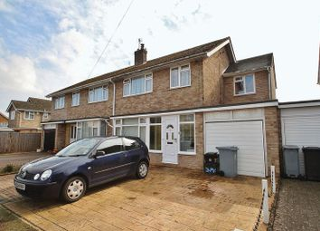 Thumbnail 4 bed semi-detached house for sale in Marlborough Crescent, Long Hanborough, Witney