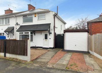 Thumbnail 3 bed end terrace house for sale in The Crescent, Breaston, Derby