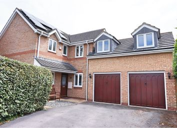 Thumbnail 4 bedroom detached house for sale in Furze Close, Swindon