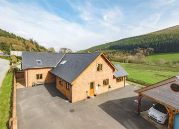 Thumbnail 4 bed detached house for sale in Ty Nant, Abbeycwmhir, Llandrindod Wells