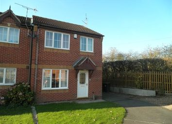 Thumbnail 3 bed town house to rent in Sussex Close, Giltbrook, Nottingham