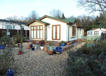 Thumbnail 2 bedroom mobile/park home for sale in Clanna, Alvington, Lydney
