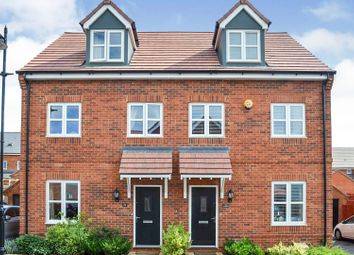 Thumbnail 3 bed town house for sale in Goldthorp Avenue, Amesbury, Salisbury