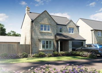 """Thumbnail 4 bedroom detached house for sale in """"The Eastbury"""" at Centenary Way, Witney"""