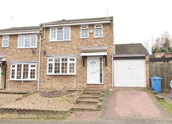 Thumbnail 3 bedroom semi-detached house for sale in Andros Close, Ipswich