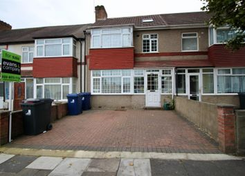 Thumbnail 4 bed terraced house for sale in Portland Crescent, Greenford