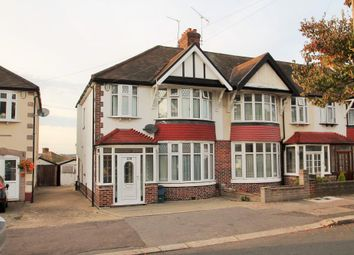 Thumbnail 3 bed end terrace house for sale in Herent Drive, Clayhall, Ilford