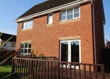 Thumbnail 3 bed detached house to rent in Cashford Gate, Taunton