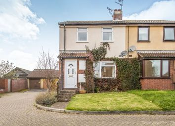 Thumbnail 2 bed terraced house for sale in Northwood Close, Norton Fitzwarren, Taunton