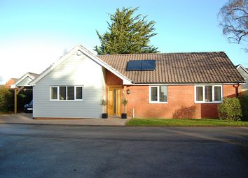 Thumbnail 3 bedroom detached bungalow for sale in Woolnough Road, Woodbridge