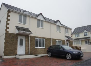 Thumbnail 3 bed semi-detached house to rent in Cobble Lane, Fraddon, St. Columb