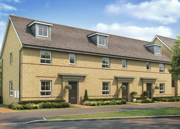 "Thumbnail 2 bedroom terraced house for sale in ""Amber"" at The Ridge, London Road, Hampton Vale, Peterborough"