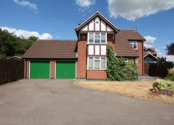 Thumbnail 4 bed detached house for sale in Swinburne Road, Hinckley