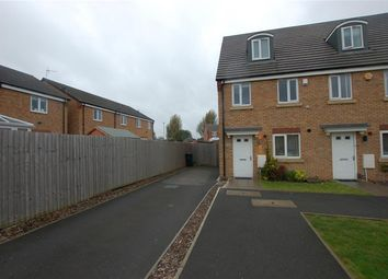 Thumbnail 3 bed town house for sale in Great Western Way, Kingswinford