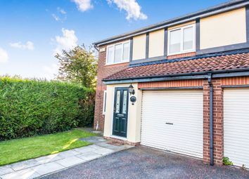 Thumbnail 3 bed semi-detached house for sale in Talland Close, Hartlepool