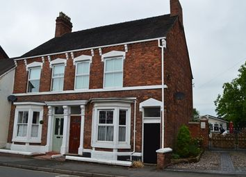 Thumbnail 3 bed semi-detached house for sale in Shropshire Street, Market Drayton