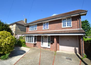 Thumbnail 4 bed detached house to rent in Lumley Road, Horley