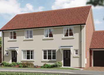 Thumbnail 3 bedroom semi-detached house for sale in Granger Close, Walsham Le Willows