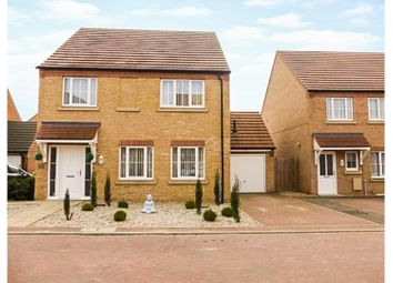 Thumbnail 4 bed detached house for sale in Dahlia Close, March