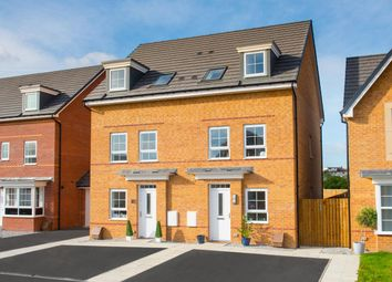 "Thumbnail 3 bed end terrace house for sale in ""Padstow"" at Station Road, Methley, Leeds"