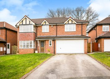 Thumbnail 4 bed detached house for sale in Hayes Close, Oswestry