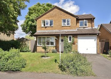 Thumbnail 4 bed detached house for sale in Garner Close, Carterton