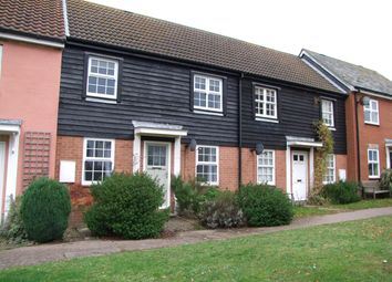 Thumbnail 2 bed terraced house to rent in Britten Close, Aldeburgh, Suffolk