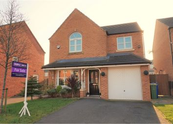 Thumbnail 4 bed detached house for sale in Lord Lane, Audenshaw