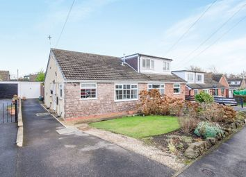 Thumbnail 2 bed semi-detached bungalow for sale in Moor View, Crigglestone, Wakefield