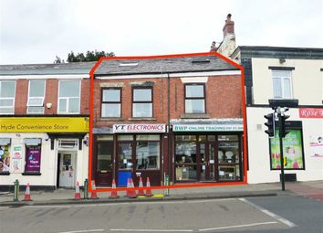 Thumbnail Commercial property for sale in Market Street, Hyde