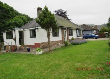 Thumbnail 3 bed detached bungalow to rent in New Road, Glyn Ceiriog, Llangollen