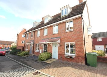 Thumbnail 3 bed town house for sale in Dunnock Drive, Costessey, Norwich