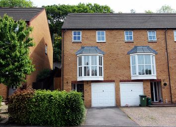 Thumbnail 3 bed town house for sale in Dan Y Graig Heights, Talbot Green, Pontyclun, Rhondda, Cynon, Taff.