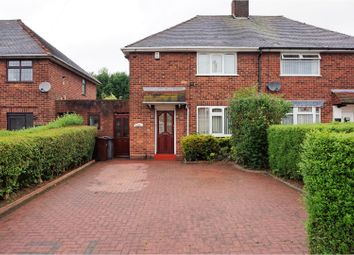 Thumbnail 2 bedroom semi-detached house for sale in Moat Green Avenue, Wolverhampton