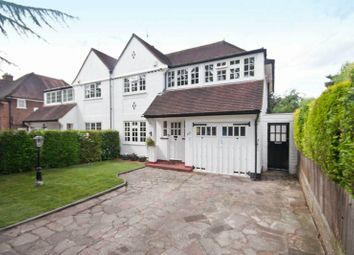 Thumbnail 4 bed semi-detached house for sale in Evelyn Drive, Hatch End, Middlesex