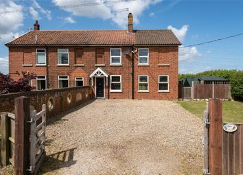 Thumbnail 3 bed semi-detached house for sale in Keepers Cottages, White Horse Lane, Arminghall, Norwich, Norfolk