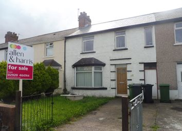 Thumbnail 3 bed terraced house for sale in Tweedsmuir Road, Splott, Cardiff