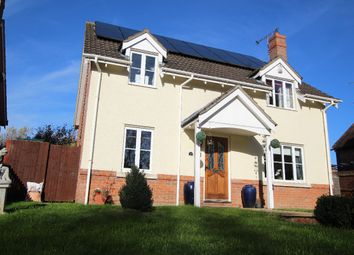 Thumbnail 4 bed detached house for sale in Hanchett End, Haverhill