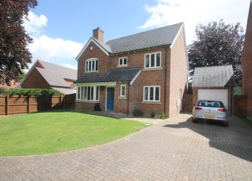 Thumbnail 4 bed detached house for sale in Pontesbury, Shrewsbury