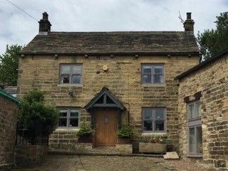 Thumbnail 2 bed cottage to rent in Lee Farm Townfield Lane, Brightholmlee, Sheffield, South Yorkshire