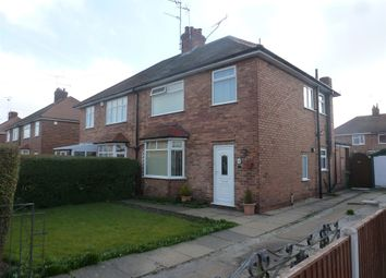 Thumbnail 3 bed semi-detached house for sale in King Road, Warsop, Mansfield