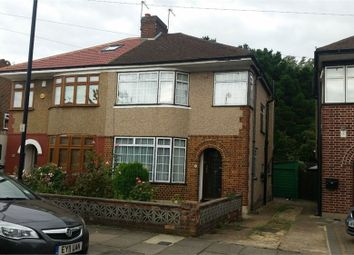 Thumbnail 3 bed semi-detached house to rent in Parkfield Road, Northolt, Middlesex