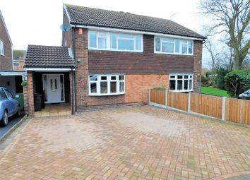 Thumbnail 3 bed semi-detached house for sale in Kentmere Close, Penkridge, Stafford.